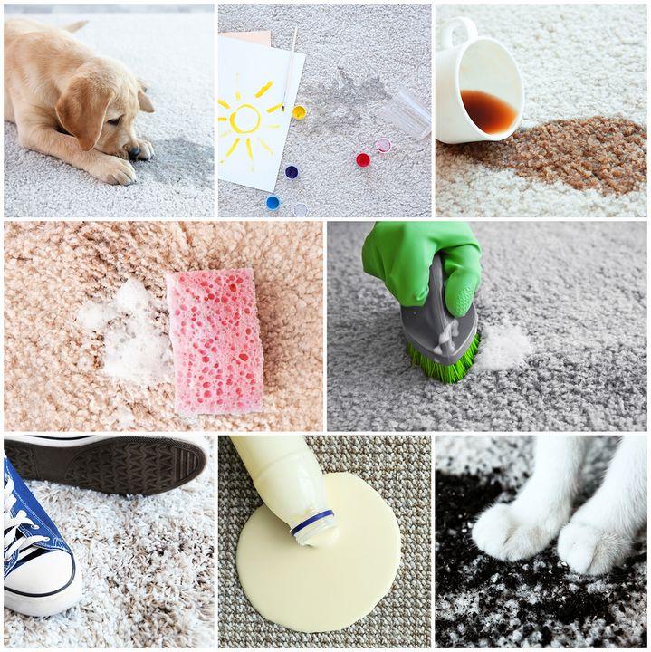 סוגים שונים של ניקיון שטיחים