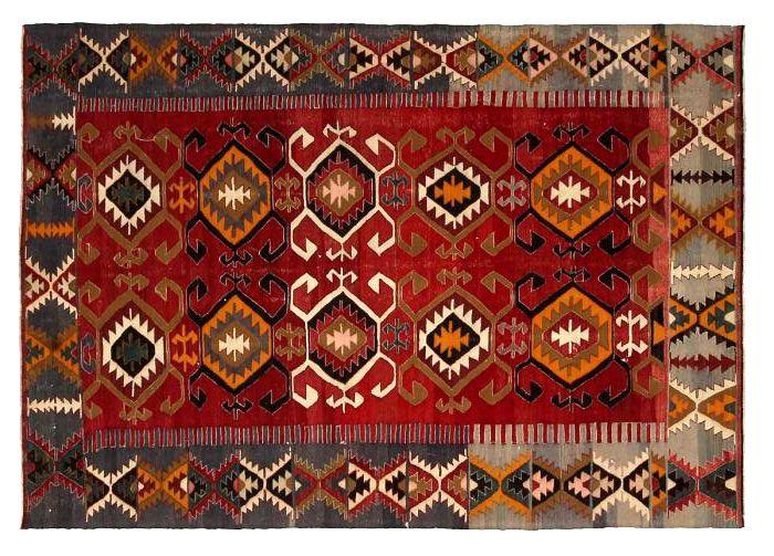 דוגמה של שטיח טורקי מסורתי